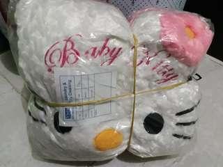 Bantal/boneka kepala hello kitty