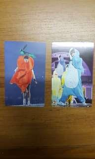 WTT BTS 4TH MUSTER PHOTOCARDS
