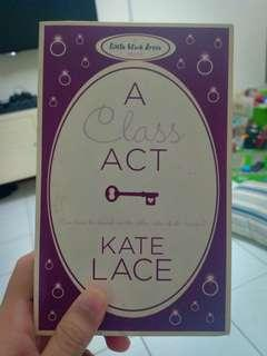 Preloved Book: A Class Act by Kate Lace