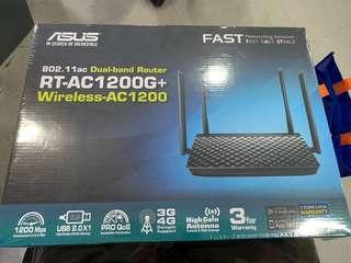 BNIB Asus RT-AC1200G+ Dual-band router