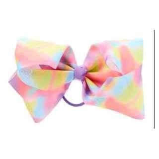 JoJo Siwa bow elastic band - pastel