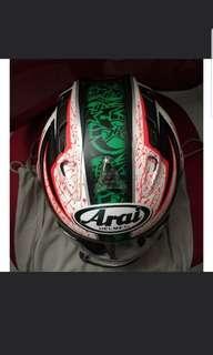 Rx7 Nicky Hayden Arai helmet