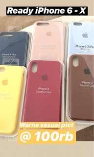 Silicone Case Apple Original