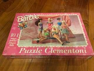 Vintage 90s Barbie Fashion Shopping 104 piece puzzle BNiB Sealed