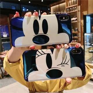 Mickey Minnie Iphone XR / XS Max / XS / X / 8+ / 7 casing