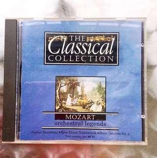 Mozart CD - Classical Collection.