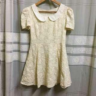 Lace Off White Dress