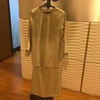 Baju Mini Kurung Songket Ariani RTW Nayya