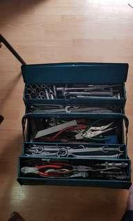 Toolbox full of tools