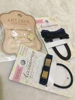 Hair accessories 3 sets for 99