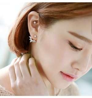 Diamond Star Earring