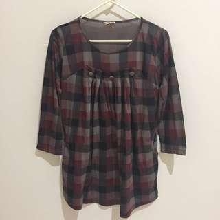 Blouse / Dress Tartan