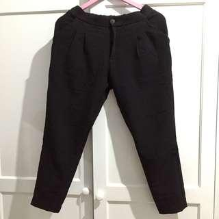 This is April Black Pants