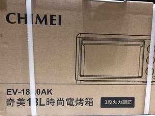🚚 CHIMEI奇美 烤箱 EV-18A0Ak
