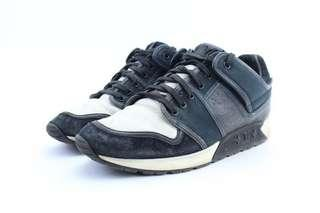 Louis Vuitton Black Upside Down Low Top Trainer Sneaker