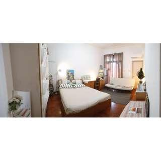 Master room & common room & maid room