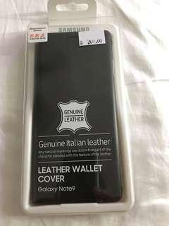 Original samsung note 9 leather case