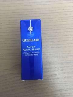 Guerlain 嬌蘭 super aqua serum intensive hydration wrinkle plumper