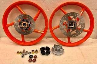 ---Package Rim Honda Dash V2 PNP Yamaha Y15ZR---