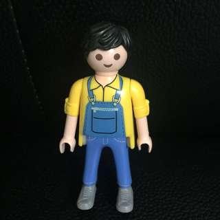Playmobil Figures 4791 工人褲摩比人