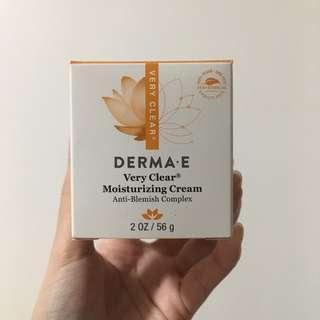 Derma-e Very Clear Moisturizing cream
