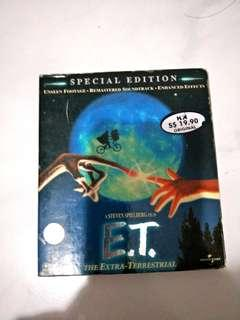 ET the Extra-Terrestrial 20th anniversary VCD