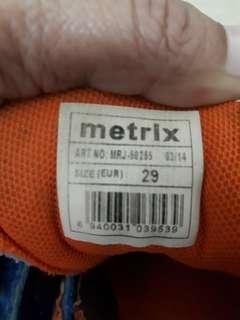 Metrix kids sport shoe