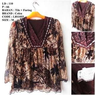 Atasan Blouse Import