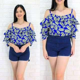 👗#OFFSHOULDER Top  ✔Free size  fit from small-semilarge