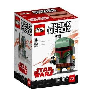 Lego 41629 boba fett brickheadz