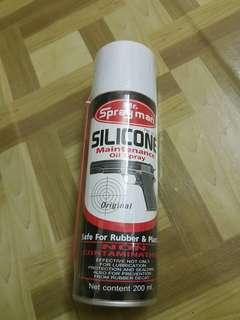 Spray man silicone oil for airsoft