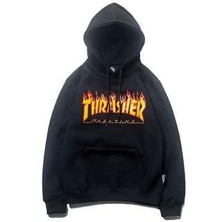 [PO] Thrasher Magazine Flame Hoodie Pullover