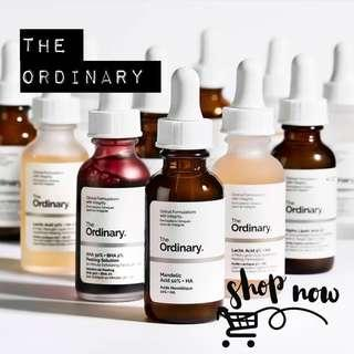 (READY STOCK) THE ORDINARY - Skincare Collection