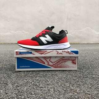 FREEPOZ🙇New Balance 247 Red Black