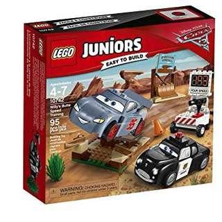 Lego cars Disney 10742 Willy's butte speed training