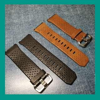 🚚 Leather Replacement Strap for Fitbit Ionic Band Screen Protector