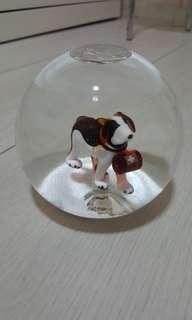 Bernese mountain dog snow globe Christmas present
