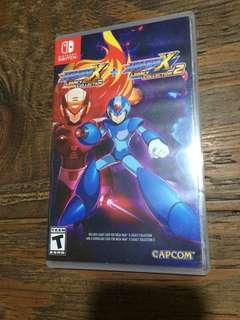 Nintendo Switch game Megaman X Collection (used code)