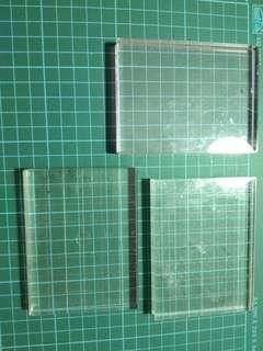 Used Acrylic Blocks