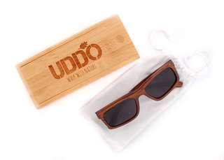 Moku UDDO Polarized Bamboo Sunglasses