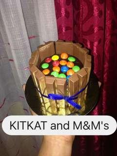 Kitkat with M&M's