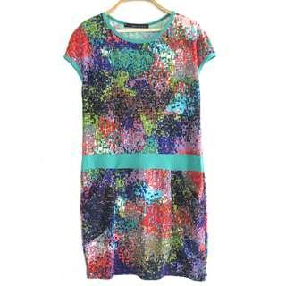 Maldita Printed Dress