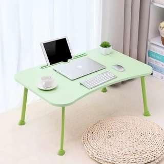 (弧形枱邊 可插電子產品) 電腦 特大 桌 床上 食飯 睇書 做功課 睇電話 寫字       jjjj