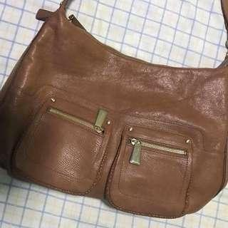 Anne klein leather sling bag authentic