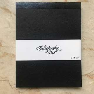 Calligraphy Pad Black Lined 200gsm REPRICED
