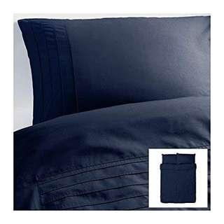 Ikea Quilt Cover (Queen) Alvine Stra Pleated