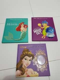 Disney hardcover story books