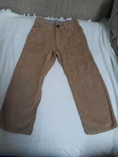 Corduroy pant for boy