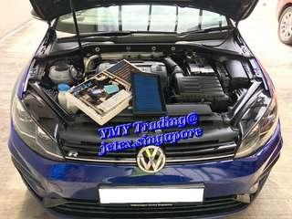 #jetexfilters_vw. #jetexfiltersasialink. VW Golf MK7.5 R onsite replacement of Jetex high flow performance drop in air filter with 1.14 kpa flow rate washable and reusable.