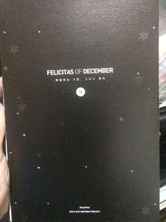 Kim Taehyung Felicitas of December 2016 Calendar
